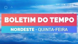 Previsão Nordeste – Situação de perigo no Maranhão