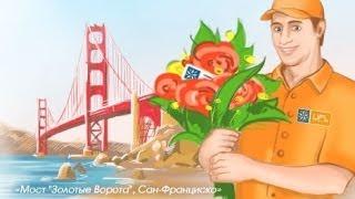 Доставка цветов Сан-Францико - U-F-L.net Цветы в Сан-Франциско(, 2014-01-12T12:06:40.000Z)
