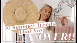 10 SUMMER TRENDS THAT ARE OVER! & What To Wear Instead // Fashion Mumblr
