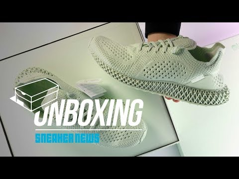 adidas Daniel Arsham Futurecraft 4D Unboxing + Review