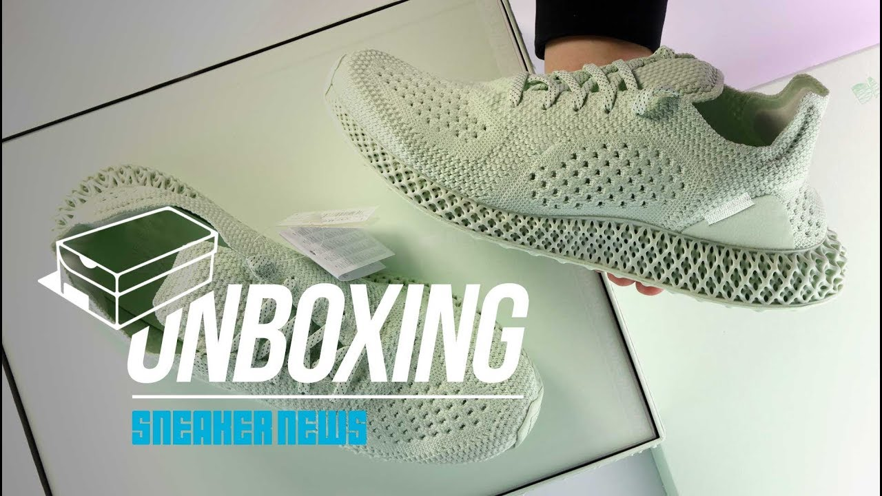 hot sales a7879 cd5f3 adidas Daniel Arsham Futurecraft 4D Unboxing + Review Hidden Details