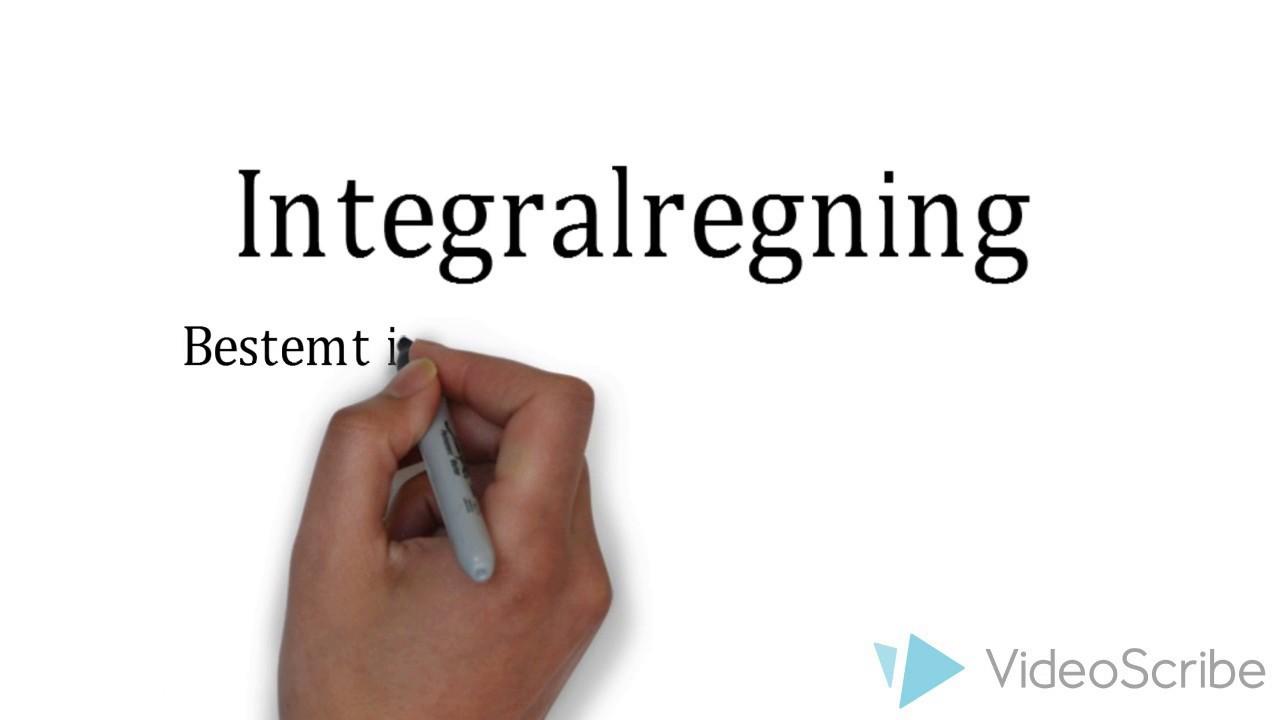 Integralregning - Bestemt integral og areal