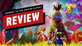 Journey to the Savage Planet Review (Video Game Video Review)