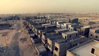 تصوير جوي: مشروع إيوان القيروان لشركة ريتال للتطوير العمراني