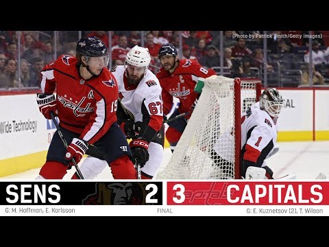 Sens vs. Capitals - Players Post-game
