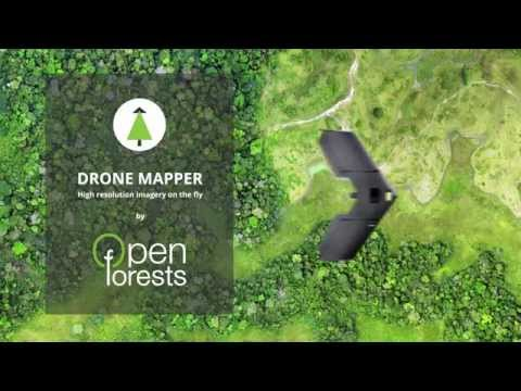 Drone types for forestry and conservation
