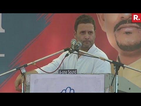 Rahul Gandhi In Gujarat  LIVE  Full Speech