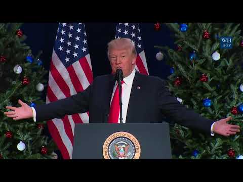 President Trump Gives Remarks on Tax Reform