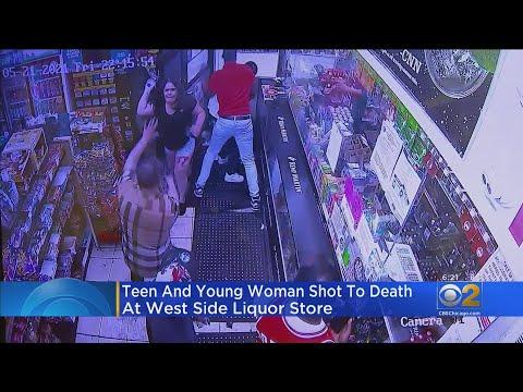Woman, Teen Shot And Killed At Humboldt Park Liquor Store