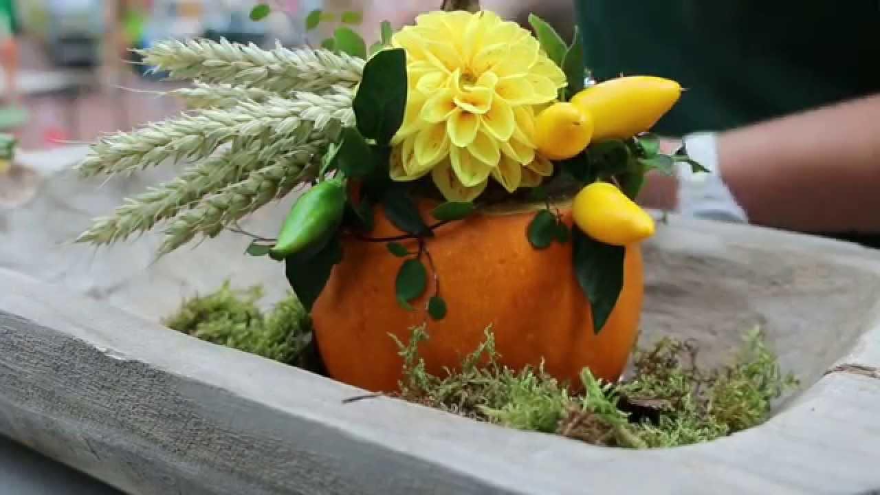 Blumendeko Video
