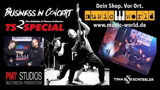 Business in Concert - music world Augsburg mit TS SPECIAL Tina Schüssler & Thomas Sedlmeier