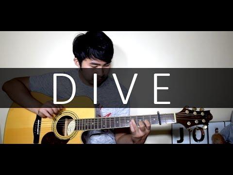 Ed Sheeran - Dive (Fingerstyle Cover By Jorell) KARAOKE   LYRICS