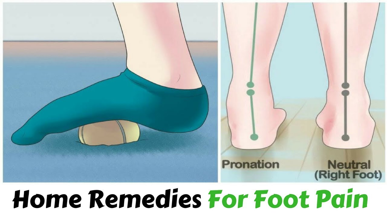 how to stop foot pain