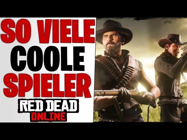 ES GIBT SO VIELE COOLE SPIELER - XP und GELD teilen | Red Dead Redemption 2 Online