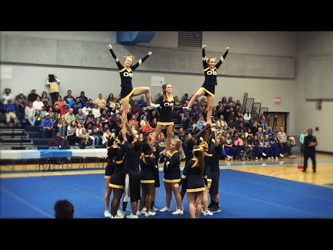 "Chincoteague High School Cheer ""Districts"" Competition 2018-2019"