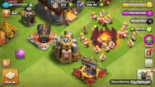 Clash Of Clans parte#2 ataque con todo!