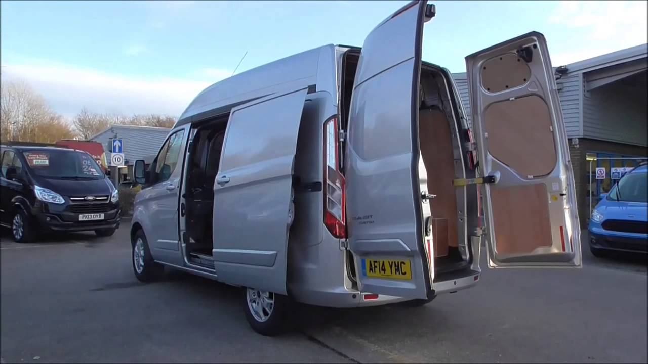 Ford Transit Custom High Roof Van Limited Tdci 155ps