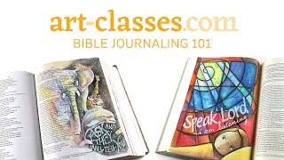 Art-Classes.com : Bible Journaling 101