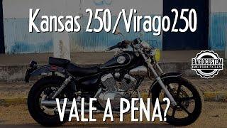 Kansas 250 e Virago 250 - Vale à Pena? # Motovlog Baixo Custom Gopro