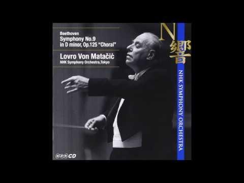 "Beethoven ""Symphony No.9"" Lovro von Matačić 1966"