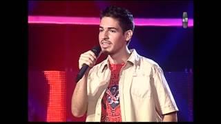 Raúl Bustios cantó Chala Head Chala - La Voz Perú - Audiciones a ciegas - II Temporada