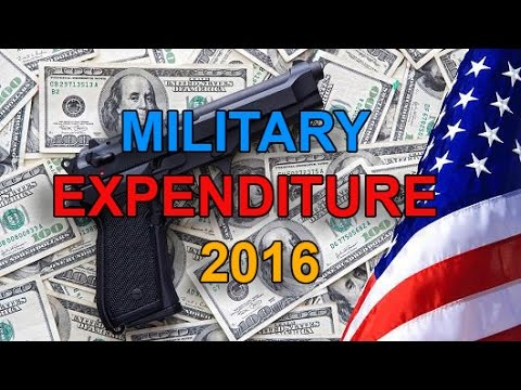 Top 10 Countries By Military Spending - 2016