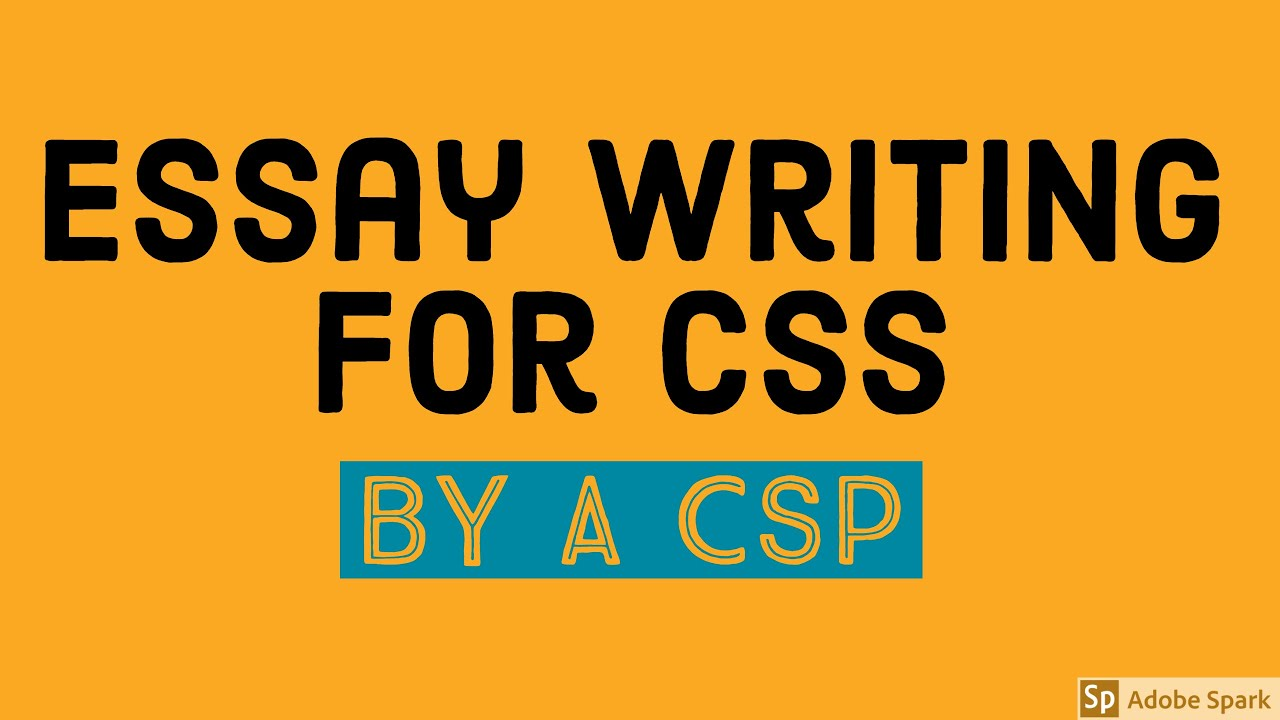 css essay past papers