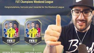 ELITE 1 REWARDS! FUT CHAMPIONS! FIFA 17 ULTIMATE TEAM! WEEKEND LEAGUE
