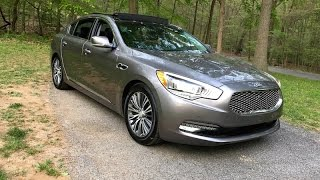 2016 Kia K900 V6 Redline Review