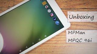 """Unboxing 10"""" China Tablet : MPMan MPQC 96i - Deutsch"""