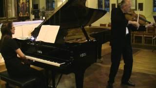 Shostakovich Viola Sonata 1st  Movement - Silverthorne - Tarantino