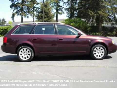 1999 Audi A6 Wagon AWD3rd SeatNICE CLEAN CAR 5995 At