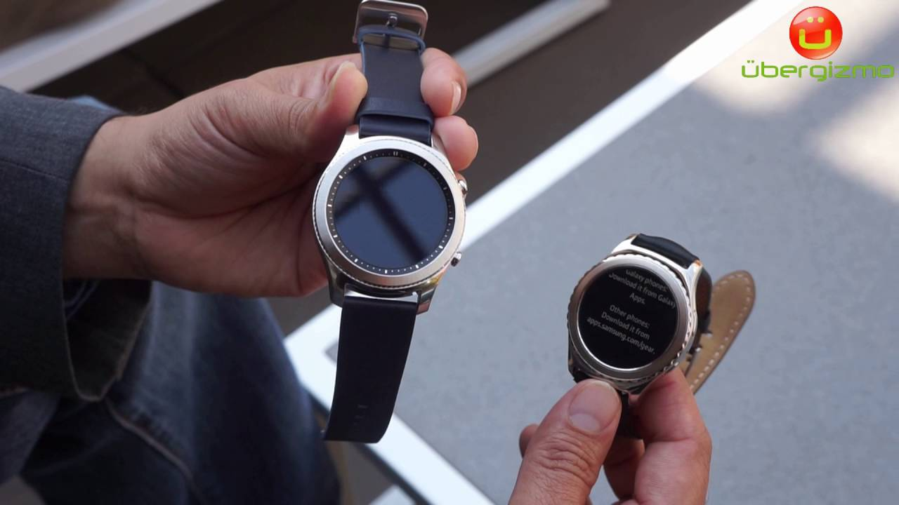 e66ce306ad4 Samsung Gear S3 classic and Gear S2 compared - YouTube