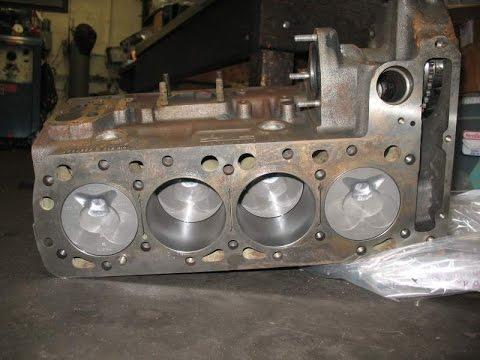 УазТех: Сборка двигателя Om616, ЧАСТЬ 5 - Установка ГБЦ