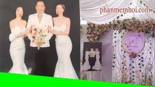 ✅ MXH xôn xao về đám cưới '1 ông 2 bà' ở Thái Nguyên: 2 cô dâu vô cùng thân mật trong bức ảnh