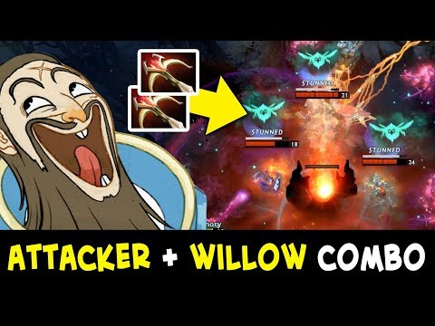 Best Kunkka Attacker + Dark Willow — EZ stuns combo