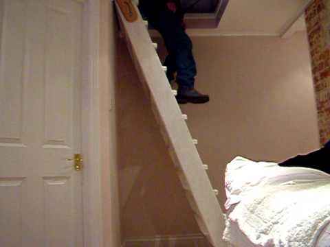 Space Saving Staircase. Part 1