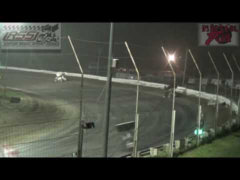 Belleville High Banks - 305 Sprint Car Nationals - 8-4-18 - Sprint Car A Feature