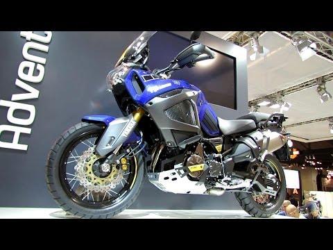 2014 Yamaha XT1200Z Super Tenere World Crosser Walkaround - 2013 EICMA Milano Motorcycle Exhibition