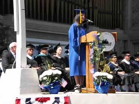 Elizabeth's Thompson - The Charter School of San Diego, Graduation 2014
