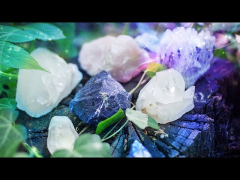 How to Cleanse Crystals With The POWER of the 5 Elements! 💎🔮✨