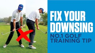 Incredible drill to master the downswing in golf!