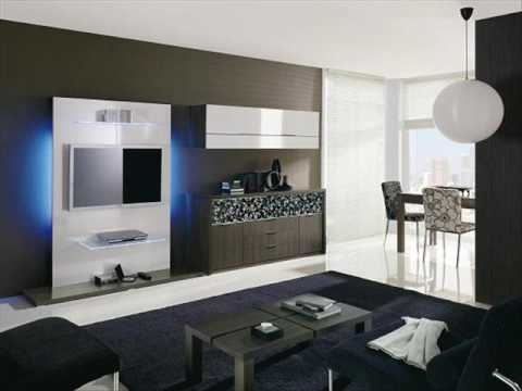 Salones modernos dise o 124 youtube - Muebles salon diseno ...