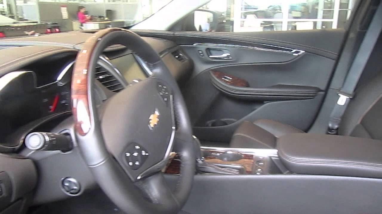 2014 Chevy Impala Interior Features   YouTube Images