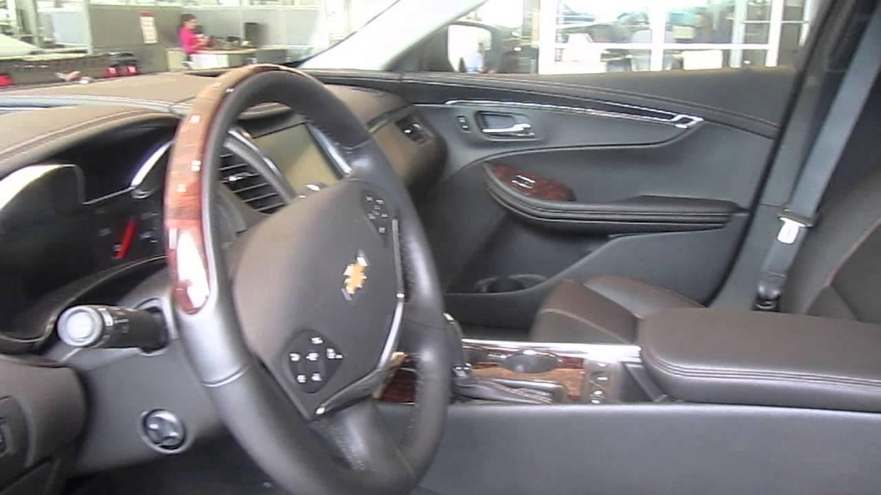 Chevy Impala 2014 Beige Interior