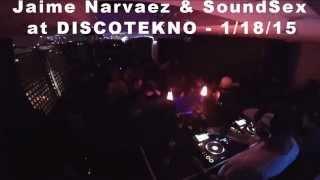 Jaime Narvaez & Miko Franconi aka Soundsex  @ Discotek, Hollywood