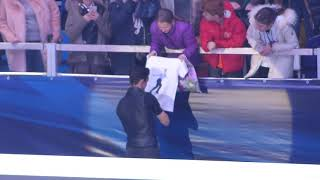 European Championships 2018 Moscow Gala ending Javier Fernandez