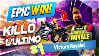 I hit the last enemy with the new quad😂😂 - Fortnite royal battle