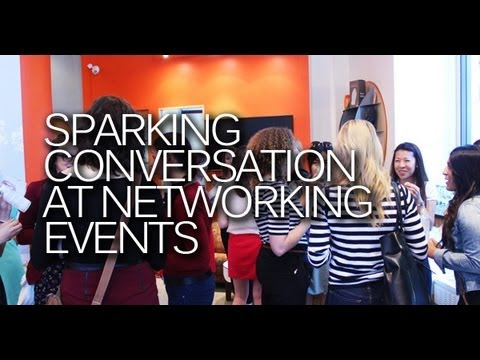 Starting Conversations at Networking Events