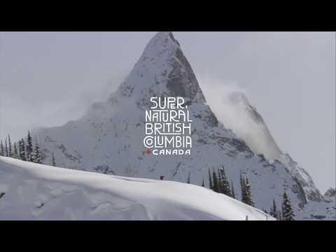 Skiing In British Columbia, Canada